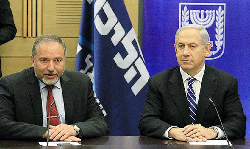 Lieberman netanyahu