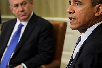 President home obama netanyahu