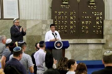 President home duterte synagogue