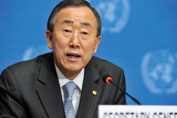 President home secretary general ban ki moon