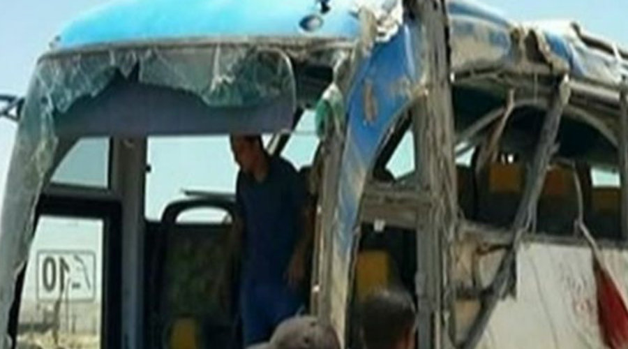 Minya bus attack