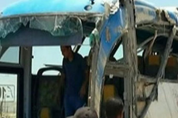 President home minya bus attack