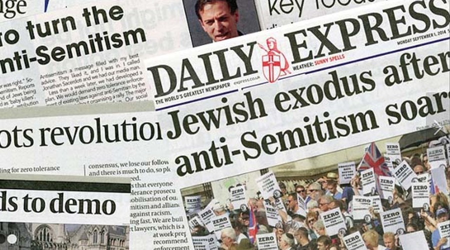 the issues of the anti semitism and the backlash against the jewish community