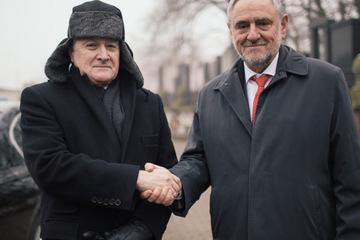 President home wjc ceo with poland deputy pm