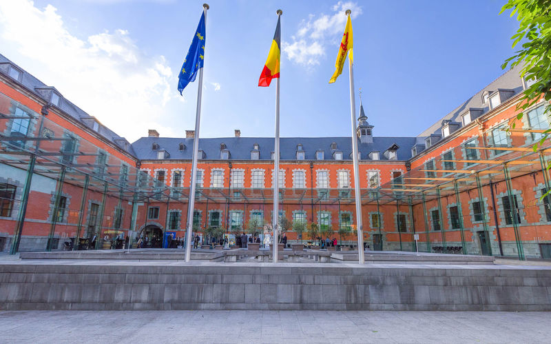 Walloon Parliament building in Namur