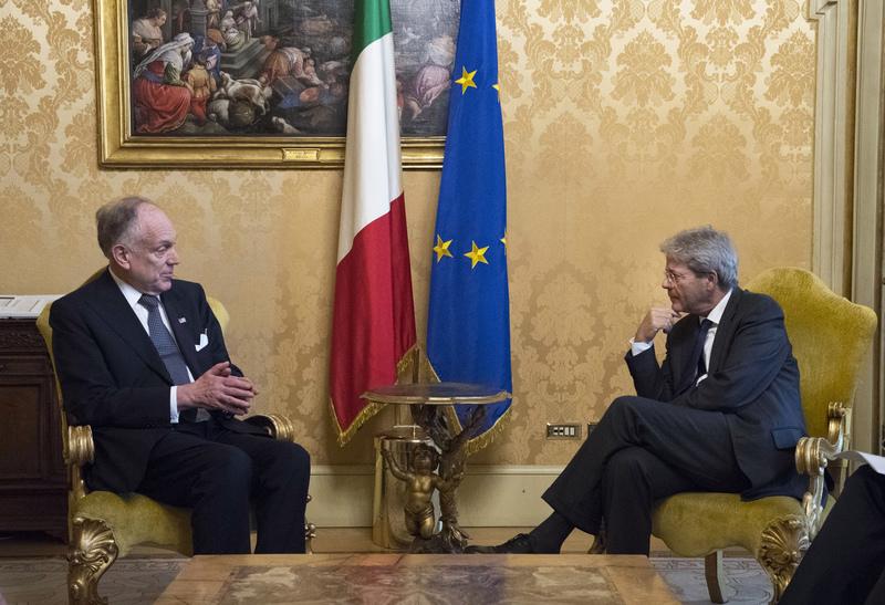 Credit: T. Barchielli / Governo Italiano