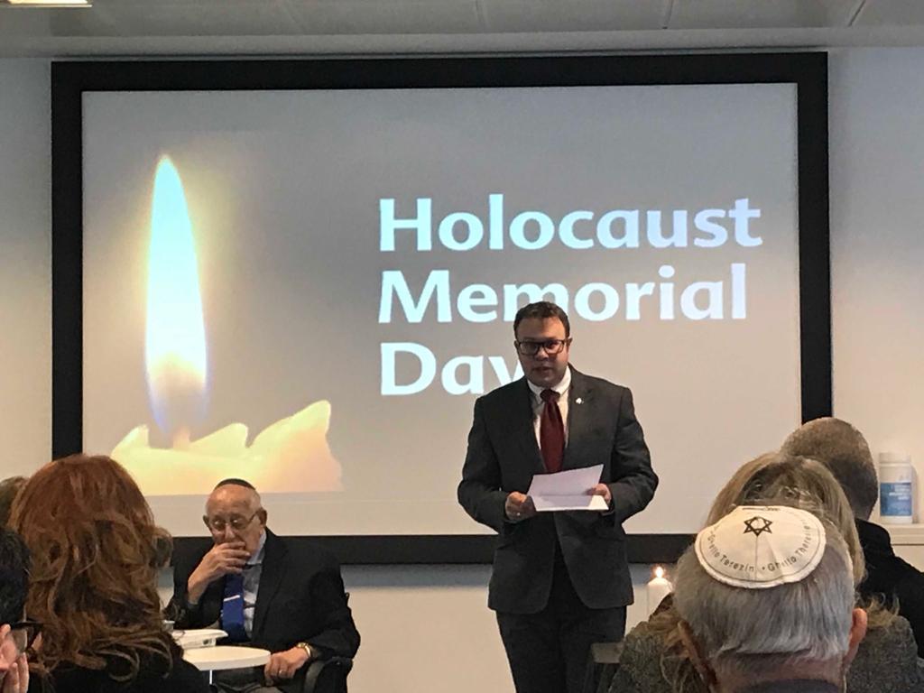 WJC Jewish Diplomat Daniel Berke (UK)