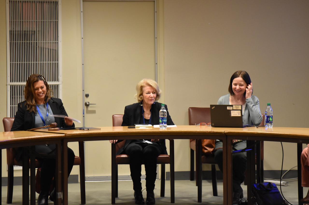 Alison Smale, Under Secretary-General for Global Communications. (c) World Jewish Congress