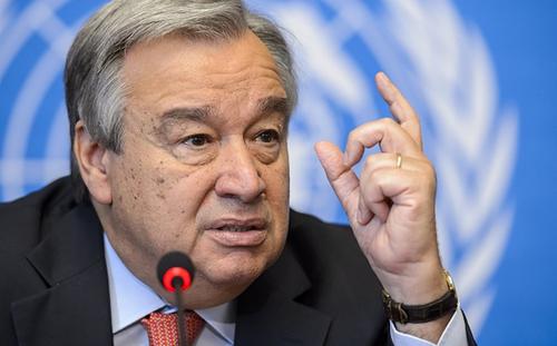 UN Secretary General-designate António Guterres
