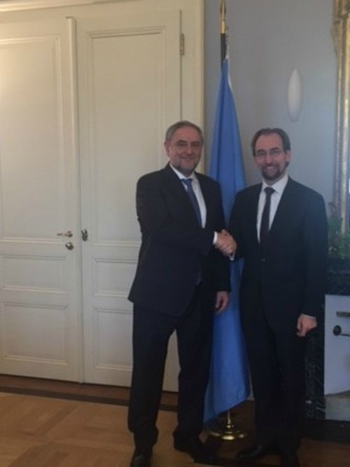 Un human rights chief tells world jewish congress ceo we - Office for the high commissioner for human rights ...