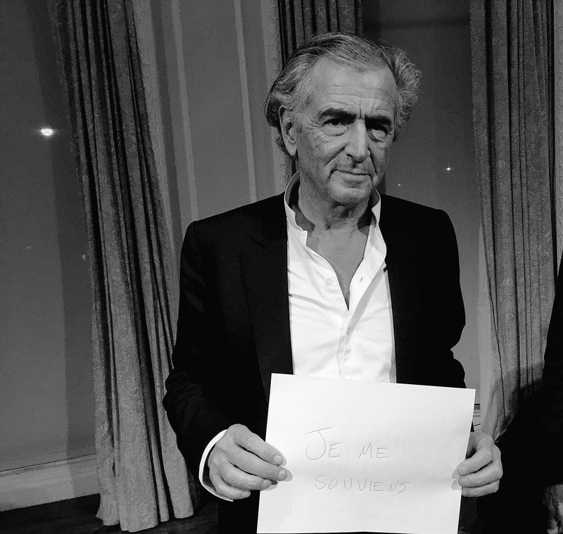 Bernard-Henri Lévy remembers